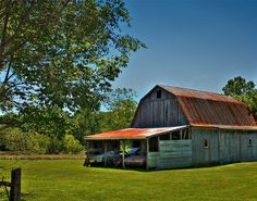 Barn and Cars by DavidImmPhotography, via Flickr