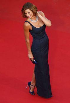 Cláudia Vieira deslumbra em Cannes - JN