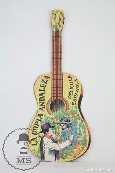 Programa de Cine Troquelado - La Copla Andaluza - Teatro Guimerá, Badalona - Guitarra - Año 1930 - Foto 1