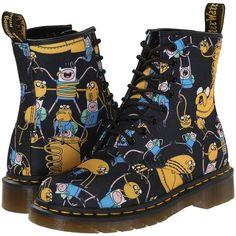 Dr. Martens Castel Shoes, Multi ($105) ❤ liked on Polyvore featuring shoes, multi, dr. martens, dr martens shoes, short heel shoes, low heel platform shoes and slip resistant shoes