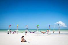 Isla Holbox Mexiko – wunderschöner Strand beim Start unserer Weltreise