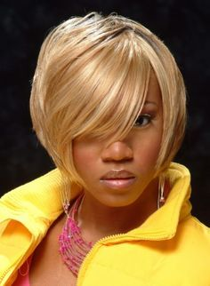short bob hairstyle for African American women