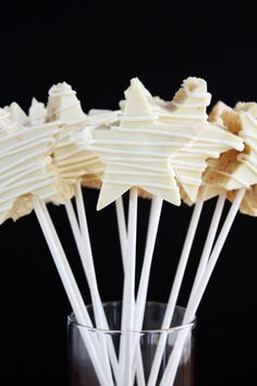 Candy-Coated Krispy Stars ~ Lulu the Baker