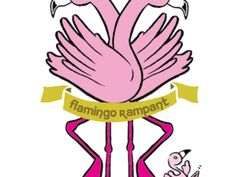 Flamingo Rampant: children's book project that raised $18555