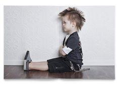 Resultado de imagem para kids style punk