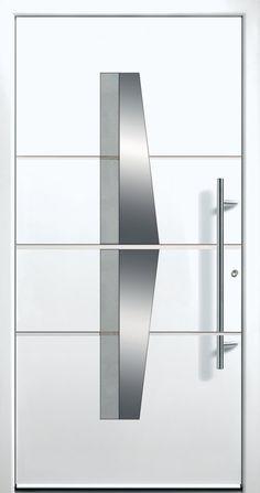 Modern Entry Doors - Modern Entry Door Modern Entry Door, Modern Exterior Doors, Entry Doors, Entrance, Iron Windows, Iron Doors, Home Stairs Design, Door Design, Modern Windows And Doors