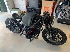 Frame Off Custom Build, Electronic Ignition, 2019 GSXR Front End Conversion w/ Brembo Brakes, Rebuilt High Compression Engine, New Mikuni Carbs, Custom GPS Speedometer, Custom Subframe, Custom Leather Seat w/ LED Light, All New Controls, 380 Miles Since Build was Complete Build By Magnum Opus Custom Bikes #caferacerforsale #caferacer