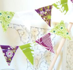 Bunting got to make for Everlea's new room