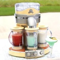Margaritaville Machine - need this for my outside kitchen!.... I SHALL PRAY EVERY NIGHT FOR THIS BABY TO COME INTO MY LIFE...LOL