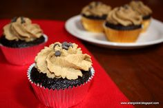 The Allergic Kid: Fudgie Chocolate Cupcakes with Sunbutter Frosting