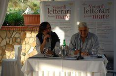 """I Venerdì letterari ... fronte mare ... al Grand Hotel La Tonnara - Amantea (Cosenza). Presentazione del libro: LA SINISTRA E' DI DESTRA di Piero Sansonetti, direttore di """"Calabria Ora""""."""