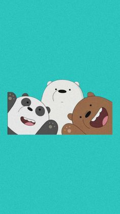 We Bare Bears Wallpapers, Bear Wallpaper, Snoopy, Disney, Fictional Characters, Cape Clothing, Wall Papers, Profile, Art