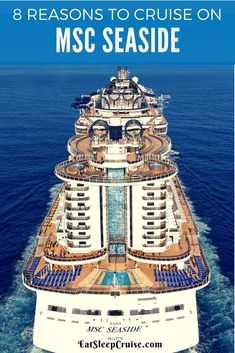Our latest guest post details the Top 8 Reasons Your Next Caribbean Cruise Should be on MSC Seaside. Find out why you should cruise on this new mega-ship. Cruise Checklist, Packing List For Cruise, Cruise Tips, Cruise Travel, Cruise Vacation, Fun Travel, Travel Tips, Vacations, Disney Cruise