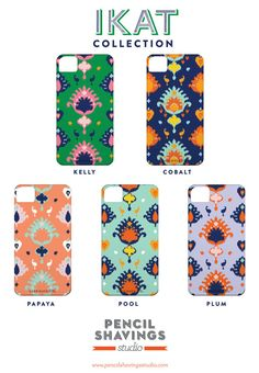 Custom iPhone 4S Case  Ikat Collection  by PencilShavingsStudio, $39.99