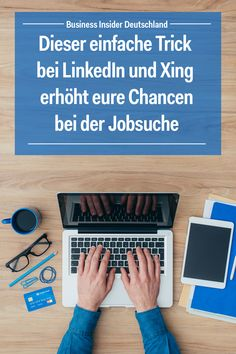 The job search is pending? Career portals like Xing and LinkedIn can be a great help when looking fo Social Media Marketing, Online Marketing, Youtube Video Clips, Moving To Germany, Job Career, Looking For A Job, Job Search, Pinterest Marketing, Personal Branding
