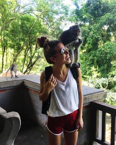 """20.2k Likes, 94 Comments - JESSICA GOICOECHEA (@goicoechea22) on Instagram: """"This is what I live for #intothejungle #Bali 🌴🐒 #indonesia #explorebali #holiday"""""""