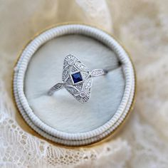 right hand ring sapphire ring Jewelry For Her, Jewelry Shop, Jewelry Stores, Jewelry Accessories, Jewelry Necklaces, Silver Necklaces, Silver Jewelry, Vintage Jewelry, Disney Fine Jewelry