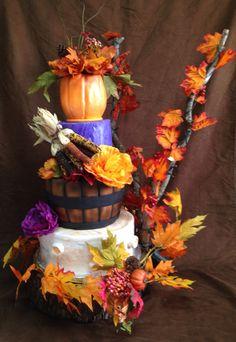 Harvest Cake Custom Cakes, Harvest, Wreaths, Fall, Home Decor, Personalized Cakes, Autumn, Homemade Home Decor, Personalised Cake Toppers