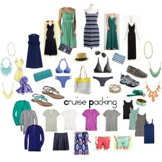 Cruise Packing, created by lizzi43 on Polyvore