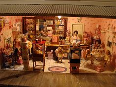 Flickriver: Photoset 'My Miniature shops and Houses' by It's a miniature life...is playing with clay