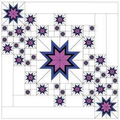 By David Gilleland, Vector Quilts. Includes pattern and all required foundations… By David Gilleland, Vector Quilts. Includes pattern and all Star Quilt Blocks, Star Quilt Patterns, Star Quilts, 24 Blocks, Free Paper Piecing Patterns, Canvas Patterns, Patchwork Quilting, Scrappy Quilts, Denim Quilts