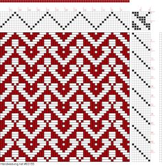 draft image: Threading Draft from Divisional Profile, Tieup: Master Weaver, Draft #61290, 8S, 8T Paper Weaving, Weaving Textiles, Weaving Art, Loom Weaving, Hand Weaving, Weaving Designs, Weaving Projects, Weaving Patterns, Mosaic Patterns