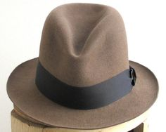 Brown Fedora Hat For Men