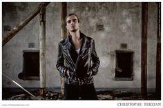 Campaign | CHRISTOPHE TERZIAN #fashion #luxe #ad #leather #biker #rock