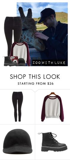 """""""Zoo With Luke"""" by hana-69 ❤ liked on Polyvore featuring Topshop, STELLA McCARTNEY and Polaroid"""