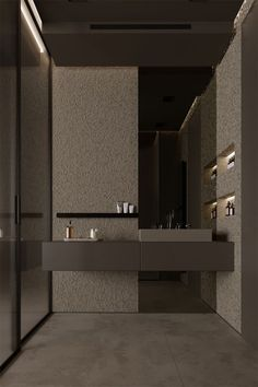This washroom layout consists of simpleness, practice, modernity, simpleness, modernity and even high-end. All recommended for those that intend to dream in the house in the restroom Bathroom Tile Designs, Modern Bathroom Design, Contemporary Bathrooms, Bathroom Interior Design, Bathroom Ideas, Modern Design, Zen Bathroom, Bathroom Cleaning, Bath Design