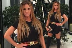 Drunk Katie Price strips NAKED in toilets, gropes strangers and brands women 'sluts' at £13k Christmas party gig