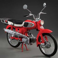 Something Special: 1966 Honda S65 - Classic Japanese Motorcycles - Motorcycle Classics