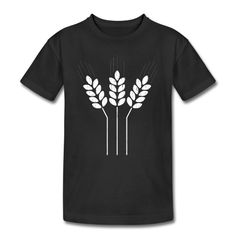 Wheat Sheaf Kids' Tee - Kid's T-Shirt by American Apparel