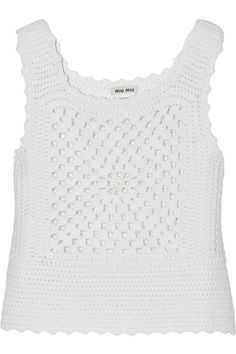 Jewellery Crochet with wires: Miu Miu Crochet Bikini Top, Crochet Blouse, Knit Crochet, Miu Miu, Crochet Designs, Crochet Patterns, Gilet Kimono, Diy Tops, Crochet Girls