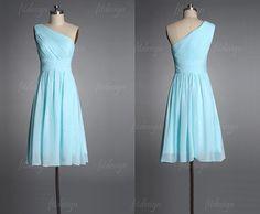 Light blue bridesmaid dress blue bridesmaid dress by okbridal ...