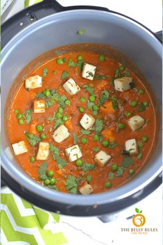 Instant Pot Matar Paneer is a creamy, flavor packed way to serve peas and soft Indian cheese. Using the pressure cooker ensures you get consistently delicious results in a fraction of the time. Your family will love this yummy, wholesome recipe. Best Vegetarian Recipes, Indian Food Recipes, New Recipes, Vegan Vegetarian, Indian Cheese, Paneer Recipes, Recipe Share, Indian Kitchen, Instant Pot Pressure Cooker