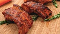 Maple Bourbon Barbecued Ribs - Recipes - Best Recipes Ever - You'll have everyone asking for more of these sticky, finger-licking-good ribs.