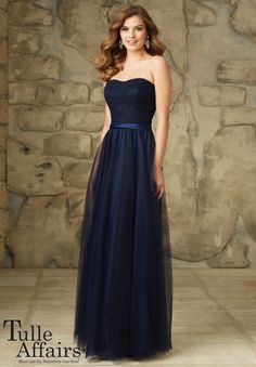 Bridesmaids Dress 116 Lace and Tulle