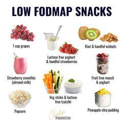 Ibs Fodmap, Fodmap Meal Plan, Low Fodmap Fruits, Fodmap Foods, Healthy Breakfast Snacks, Fodmap Breakfast, Low Food Map Diet, Ibs Diet, Fodmap Recipes