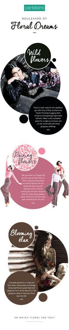 Boulevard of Floral Dreams - Pantaloons Fashion