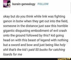 Legend Of Zelda Memes, Legend Of Zelda Breath, Twilight Princess, Princess Zelda, Link Zelda, Stupid Funny, Funny Stuff, Breath Of The Wild, Gaming Memes