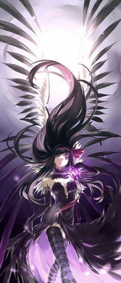Collest Homura ever, Anime, puella magi madoka magica- Homura Anime Love, Got Anime, Awesome Anime, Anime Kawaii, Madoka Magica, Demon Manga, Accel World, Anime Kunst, Anime People