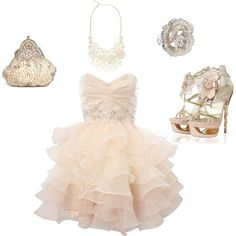 Prom Girl, created by danalajeunesse on Polyvore