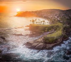 Just fooling around a little. Last night I headed to the coast 30 mins before sunset and was able to throw Chuck up in the air for a few minutes. This was part of the result. There was a lot of haze in the air which makes for lots of color.  #mylagunabeach #livelagunabeach #lagunabeach  #aerialimaging #ocean #sun #beach #Drone #djiexpert #djicreator #gabeselect  #oceanscape #instagood #droneOfTheDay #photooftheday #beautiful #sky #clouds #amazing #sunset #aerialphotography  #airvuz…