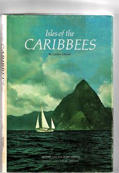 Isles of the Caribbees 1971 National Geographic HC DJ with Bonus N.G. Map VG National Geographic Society, South America, Dj, Beach, The Beach, Beaches