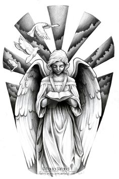 Angel sleeve design                                                                                                                                                                                 Mehr