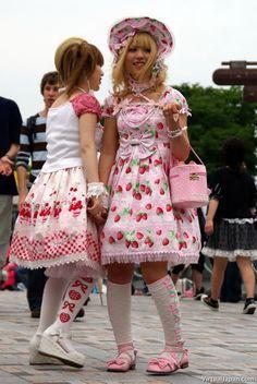 Japanese Lolita Fruits Fashion