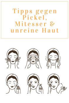 Unreine #Haut: Mit diesen 5 Tipps gehören unreine Haut und #Pickel der #Vergangenheit an 💪🏻  #unreinehaut #beautyblogger #fettigehaut #akne #mitesser #skincare #basel