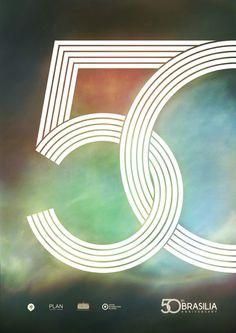 [포스터디자인] 철저한 계획도시 브라질리아 50주년을 기념하는 감각적인 포스터 : 네이버 블로그