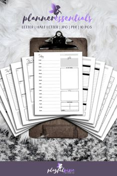 Get organized with this printable planner essentials bundle! Keep life at a glance with inserts like daily, weekly, monthly, budget, goal planner (and more)!! Just download and print.  #plannerpages #printableplanner #plannerlove #dailyplanner #planner Goals Planner, Weekly Planner, Printable Planner Pages, Printables, Daily Organization, Mermaid Invitations, Gifts For Readers, Monthly Budget, Cleaning Checklist